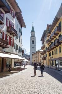 Rundtour um die Dolomiten