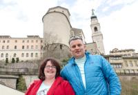 Claudia Tscherne und Freddy Mair
