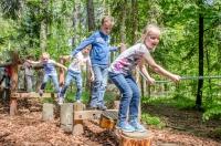 Spaß in der Walderlebniswelt